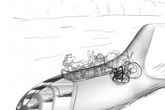 3D sukellusvene lisätty